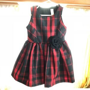 Red & Black special occasion dress - Sz 18 months